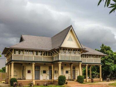 Jaekel House - one of the historical buildings in Nigeria