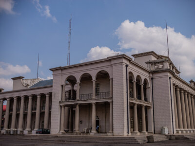 Mapo Hall - one of the historical buildings in Nigeria