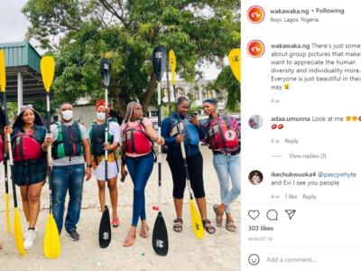 Waka Waka NG is your Kayaking plug