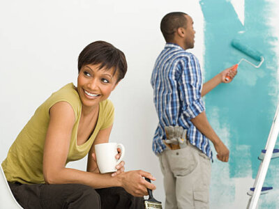 DIY Painting for home renovation