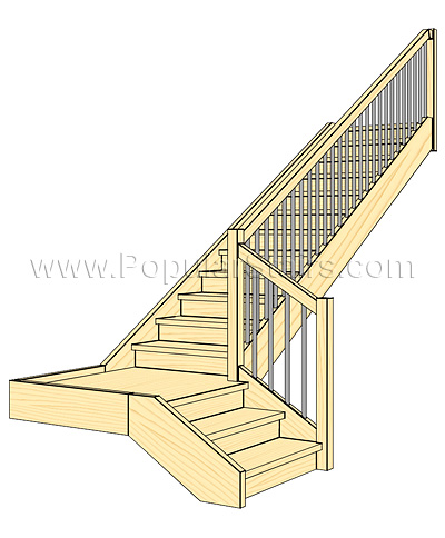 Eazyhomes company types of staircases for Staircases types