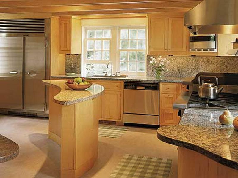 Small Kitchen Island Ideas With Seating Layout